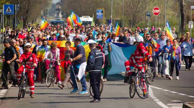 Marcia per la pace della Bassa Romagna, 30 marzo 2014