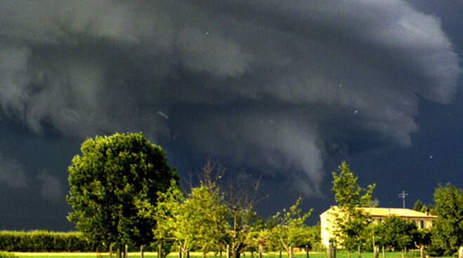Un temporale nel luglio 1998
