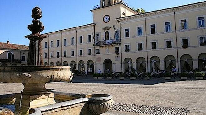 Una veduta di piazza Garibaldi