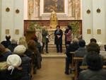 Da sx la Presidente dell'Associazione Amici di RavennAntica Patrizia Ravagli, la Presidente di RavennAntica Elsa Signorino e l'Assessore Ouidad Bakkali.