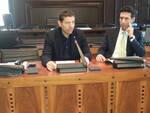 La presentazione del Report 2014: l'assessore Guido Guerrieri e il presidente di Ravenna Runners Club Stefano Righini