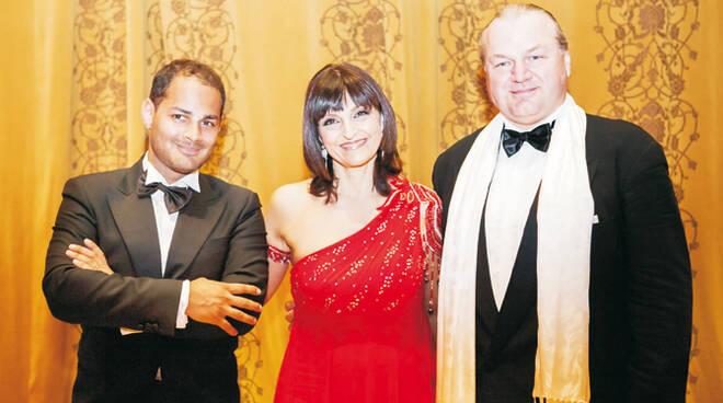 Da sx Daniel Giulianini, Monica De Rosa McKay e Gian Luca Pasolini