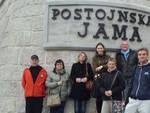 Il gruppo degli esperti a Postumia, in Slovenia. Fra loro anche Mauro Conficoni, consigliere delegato del Gal Delta 2000