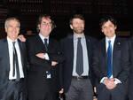 Il gruppo dei cinque sindaci el ministro Franceschini (Foto Maurizio Riccardi © Agrpress.it)