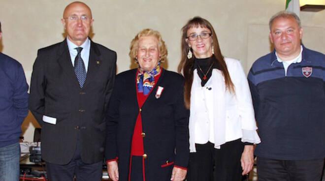 Un momento della conferenza stampa al Salone Estense