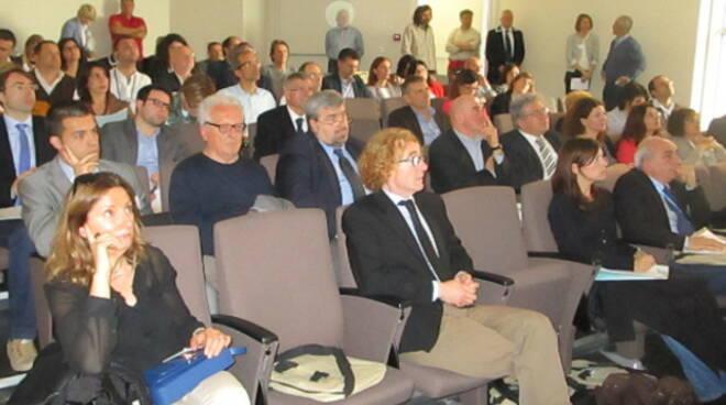 il pubblico ha seguito con attezione il convegno