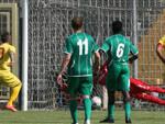 La svolta del match: il rigore trasformato da Rispoli (foto Zani)