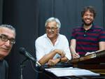 Da sx Vittorio Bonetti, Eliseo Dalla Vecchia e Rudy Gatta