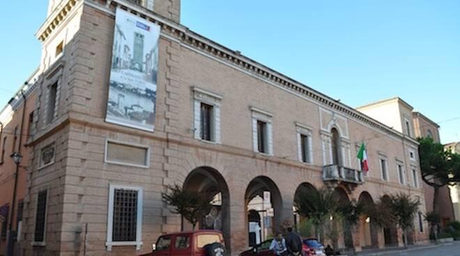Il Municipio di Castel Bolognese