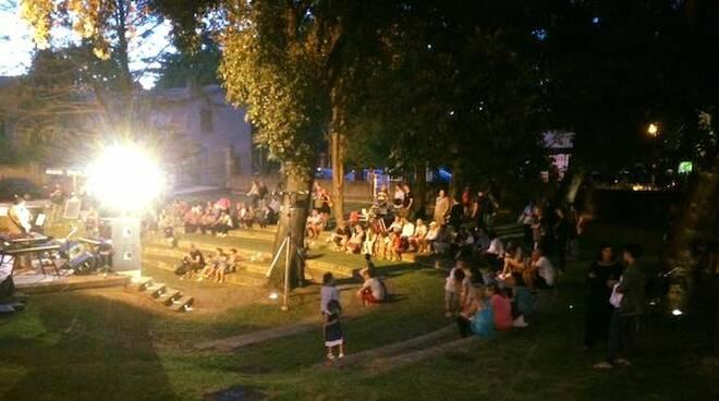 Un'immagine dell'area concerti del Russi Rock Beer Festival