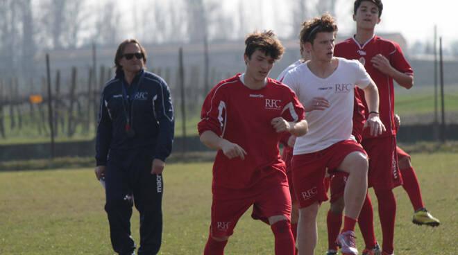 Marcello Ottaviani con alcuni giocatori