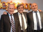 Da sx Guglielmo Russo, Giovanni Monti e Mario Mazzotti