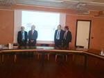 I nuovi dirigenti di RiminiBanca: Frisoni, Pula, Conti e Ioni
