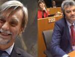 Il ministro Graziano Del Rio e l'eurodeputato Damiano Zoffoli