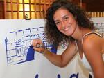 La palleggiatrice sanmarinese, Valeria Benvenuti