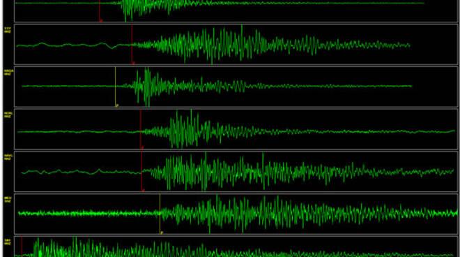 La scossa di terremoto è stata registrata dalle apparecchiature a 38 km di profondità
