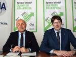 A sx Franco Napolitano direttore generale e Lorenzo Zanotti presidente di CNA Forli-Cesena