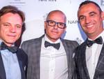 I tre soci NAPKIN: da sinistra Andrea Bettancini, Davide Fabi e Mario Tarroni