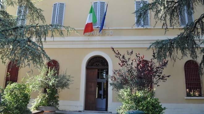 Il Municipio di Riolo Terme