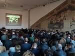 """Sala del Giudizio stracolma per la giornata di studi dedicata a """"Leon Battista Alberti, da Vitruvio al Tempio Malatestiano"""""""