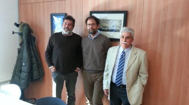 I dirigenti della Federconsumatori che hanno presentato la nuova iniziativa nella sede della Cgil di Forlì