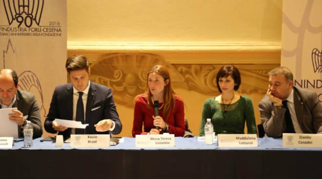 Il Consiglio Direttivo del gruppo giovani di Confindustria Romagna