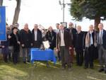 Il gruppo del Rotary Club Tre Valli assieme alla famiglia Persiani