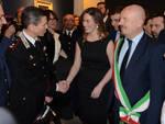 Il Ministro Boschi all'inaugurazione con le altre autorità cittadine