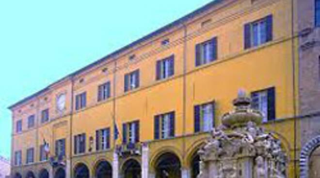 Il municipio di Cesena
