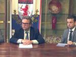 La presidente di Aser Silvia Bagioni, l'amministratore delegato Maurizio Rossi e il consigliere Fabio Bove