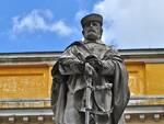 La statua di Giuseppe Garibaldi nell'omonima piazza di Ravenna