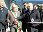 Un momento dell'inaugurazione: al centro il sindaco Drei e il presidente Bonaccini - foto Unibo
