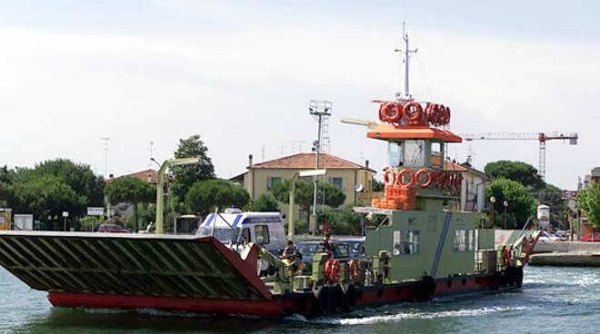 Il traghetto di Marina di Ravenna