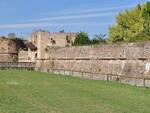 L'esterno della Rocca Brancaleone