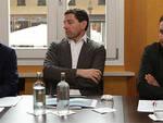 Da sx il direttore uscente Carlo Ravaiol, l'assessore Guido Guerrieri, il nuovo direttore Daniele Modanesi