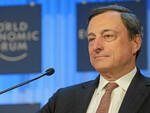 Mario Draghi (immagine dal sito del World Economic Forum, licenza creative commons)