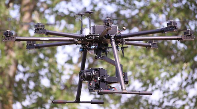 Un drone, foto di repertorio