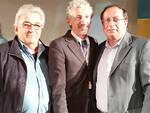 Al centro il nuovo Presidente Nazionale ACLI Roberto Rossini con il Presidente Prov.le Antonio Nonni e il Consigliere Nazionale Walter Raspa