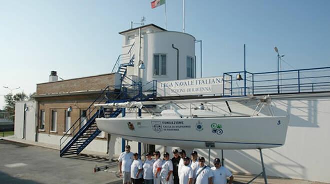 La sede della Lega Navale Ravenna