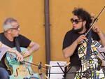 Giovanni Sollima e Enrico Melozzi; Sollima riceverà questa sera il premio Ravenna Festival 2016