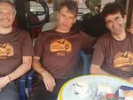 I tre viaggiatori in pausa a Tavullia