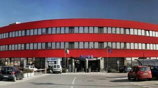 La sede Ausl Romagna di via Coriano 38 a Rimini, nota come 'Colosseo'
