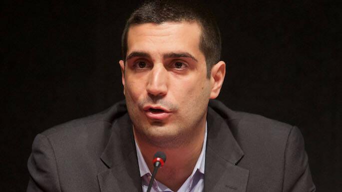 Michele de Pascale, candidato sindaco del centro sinistra per il Comune di Ravenna