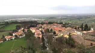 Una panoramica di Bertinoro