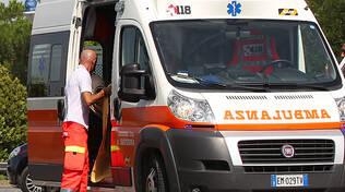 Il ciclista ferito è stato soccorso dal personale del 118, intervenuto con un'auto medicalizzata e un'ambulanza