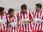 I biancorossi possono fare festa: anche nel prossimo campionato saranno in Lega Pro (foto d'archivio)