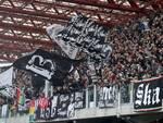 La curva dei tifosi del Cesena