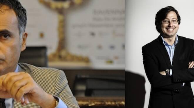 Andrea Corsini e Alberto Cassani