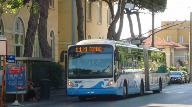 Un autobus di Start Romagna (foto d'archivio)