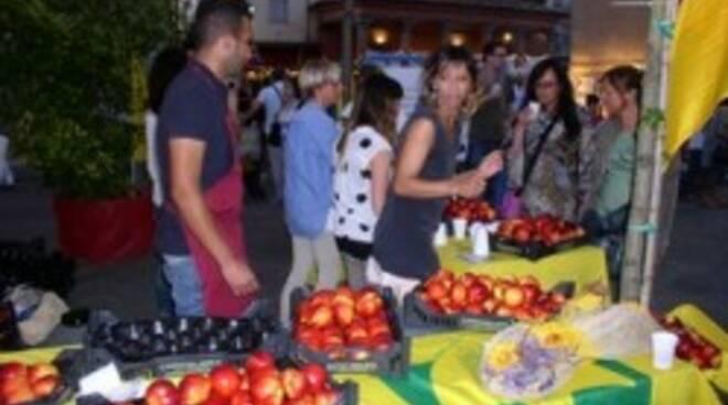 Un mercato Campagna Amica di Coldiretti